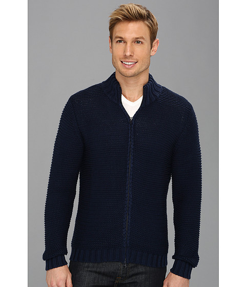 Scott James - Ebner Sweater (Navy) Men's Sweater