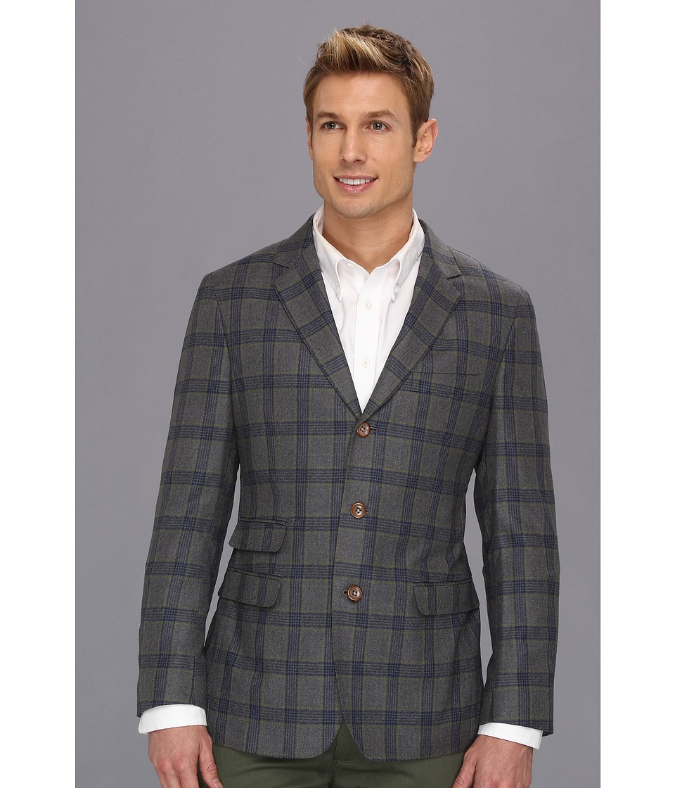 Scott James - Wotan Plaid Blazer (Green) Men