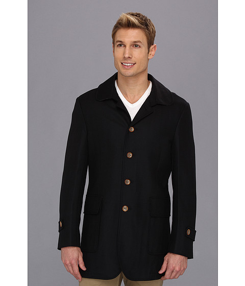 Scott James - Ortwin Overcoat (Navy) Men's Coat