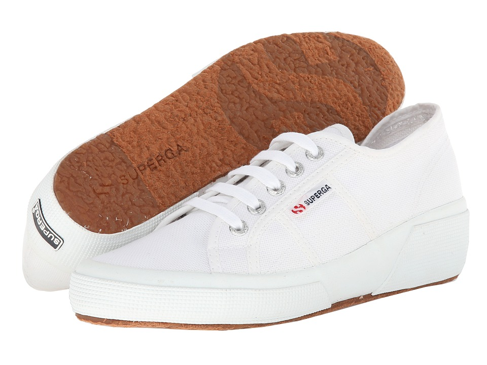 Superga - 2905 Cotw Linea Up And Down (White) Women