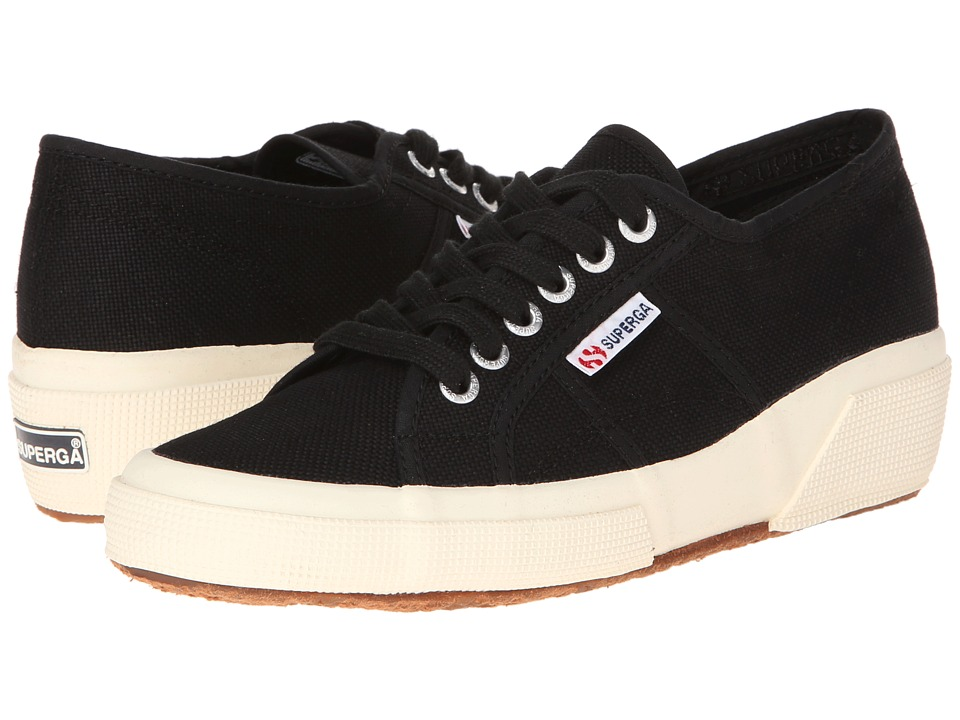 Superga - 2905 Cotw Linea Up And Down (Black) Women's Lace up casual Shoes