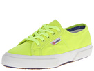 Superga 2750 Cotu Fluo (Yellow Fluo)