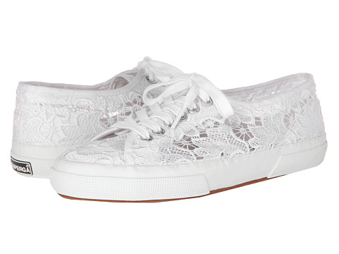 Superga - 2750 Lace (White) Women's Lace up casual Shoes