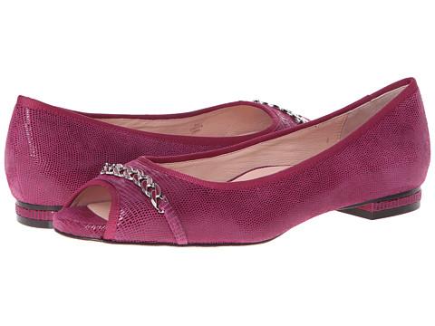 Taryn Rose - Aci (Magenta) Women's Flat Shoes