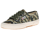 Superga 2750 Camouflage (Green Multi)
