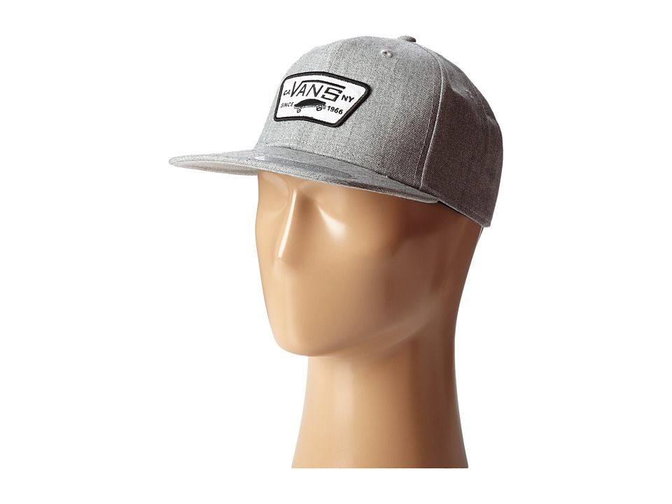 Vans - Full Patch Snapback (Heather Grey) Caps