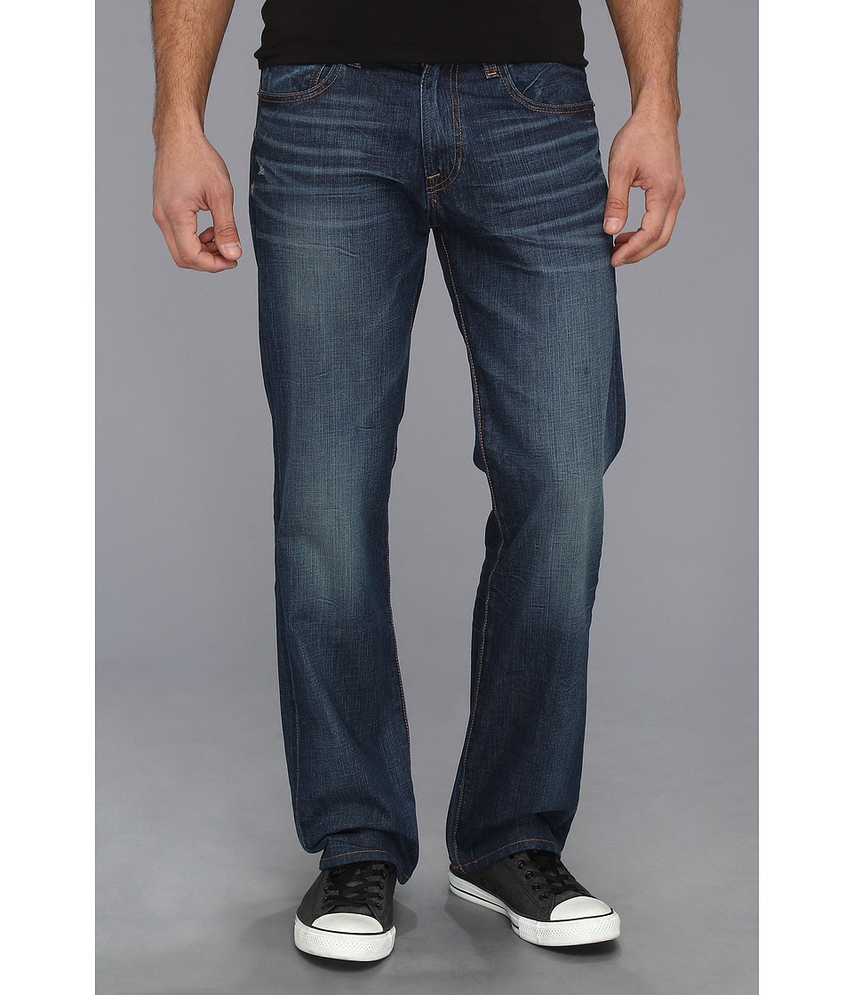 Lucky Brand 221 Original Straight in Weatherbee   R Mens Jeans (Blue)