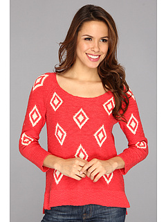SALE! $41.99 - Save $48 on Lucky Brand Diamond Intarsia (Poinsettia) Apparel - 53.08% OFF $89.50