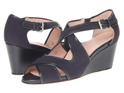Taryn Rose - Kinza (Navy Blue) Women's Sandals