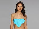 Ella Moss Solids Rem S/C Ruffle Bra (Blue) Women's Swimwear