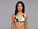Ella Moss Belle Floral Rem S/C Halter Bra (Multi) Women's Swimwear