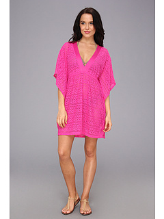 SALE! $46.99 - Save $44 on Athena Cabana Tunic Cover up (Pink) Apparel - 48.36% OFF $91.00