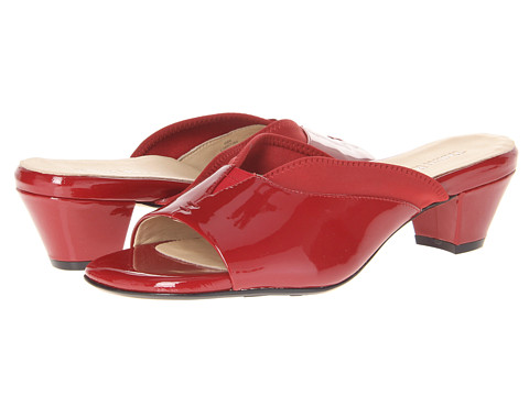 Taryn Rose - Odi (Red) Women's Clog/Mule Shoes