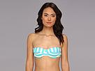 Ella Moss Cabana Stripe Molded S/C U/W Bra (Blue) Women's Swimwear