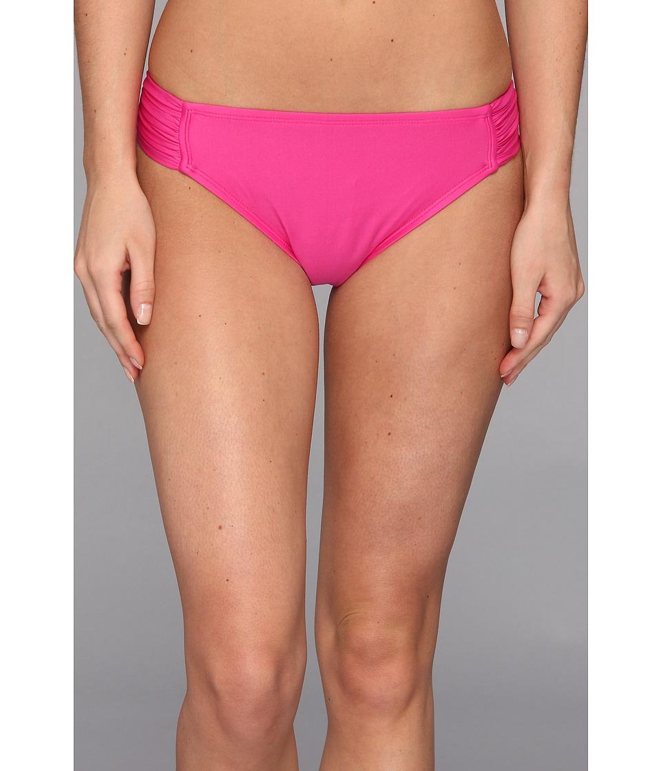 Athena - Ocean Park Tab Side Pant (Pink) Women's Swimwear