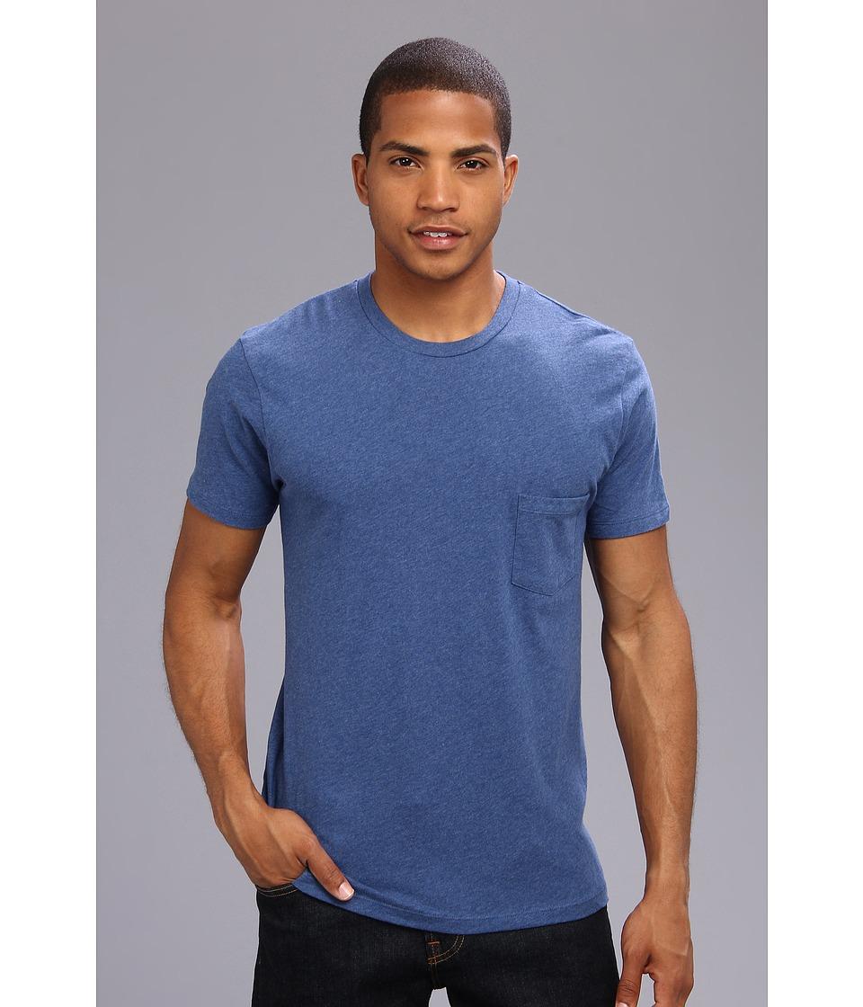 Alternative - Perfect Pocket Tee (Lima Blue) Men's Short Sleeve Pullover