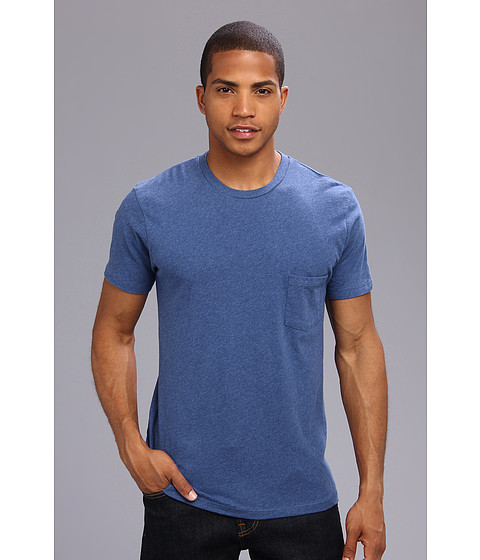 Alternative - Perfect Pocket Tee (Lima Blue) Men