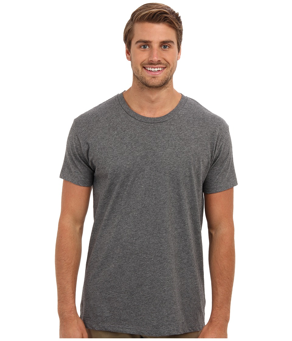 Alternative - Perfect Vintage Tee (Grey Heather) Men's Short Sleeve Pullover