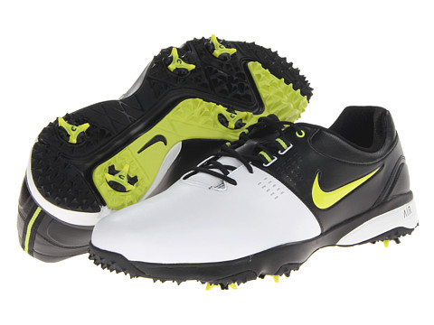 Nike Golf - Air Rival III (White/Venom Green/Black) Men's Golf Shoes