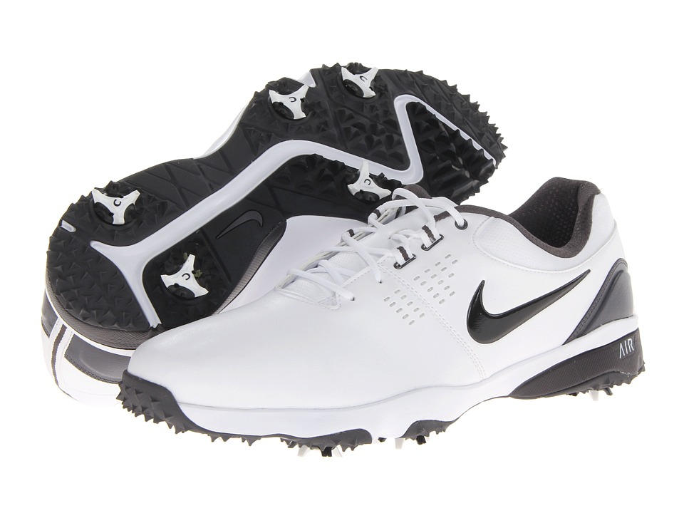 Nike Golf - Air Rival III (White/Black/Iron Ore) Men's Golf Shoes