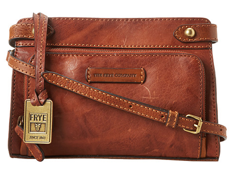 Frye - Michelle Crossbody (Cognac Antique Soft Vintage) Cross Body Handbags