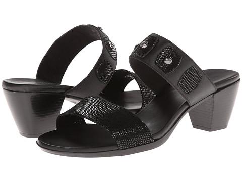 Munro American - Bethany (Black Metallic Lizard) Women's Shoes