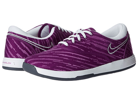 Nike Golf - Lunar Duet Sport (Bright Grape/Metallic Silver/Lt Arctic Pink) Women's Golf Shoes