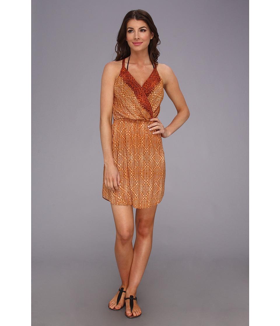 Vix - Para Livia Short Dress Cover Up (Multi) Women's Swimwear