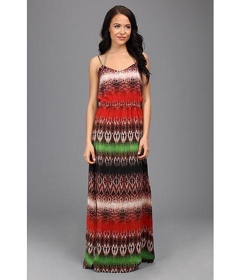 Vix - Paje Mabel Long Dress Cover Up (Multi) Women