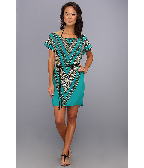 Vix - Xingu Lora Short Dress Cover Up (Multi) Women