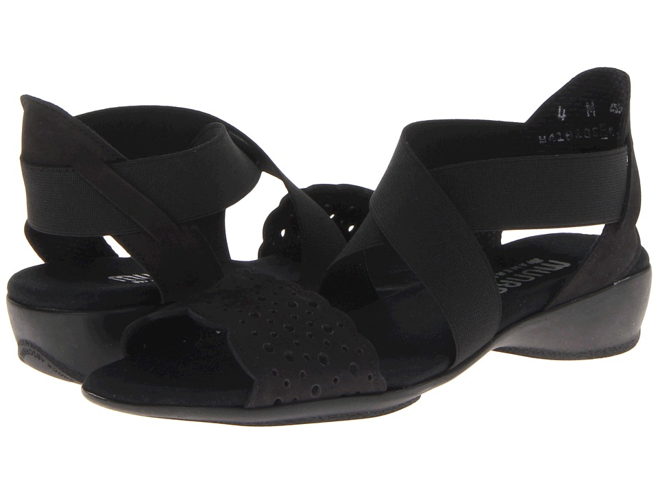 Munro American - Lacy (Black Nubuck) Women's Shoes