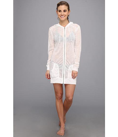 TYR - Huntington Beach Freestyle Sweater Hoodie (White) Women