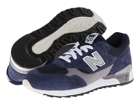 New Balance Classics - CM496 (Navy/Grey) Men's Classic Shoes