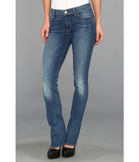 7 For All Mankind - The Skinny Bootcut in Bright Red Cast Blue (Bright Red Cast Blue) Women
