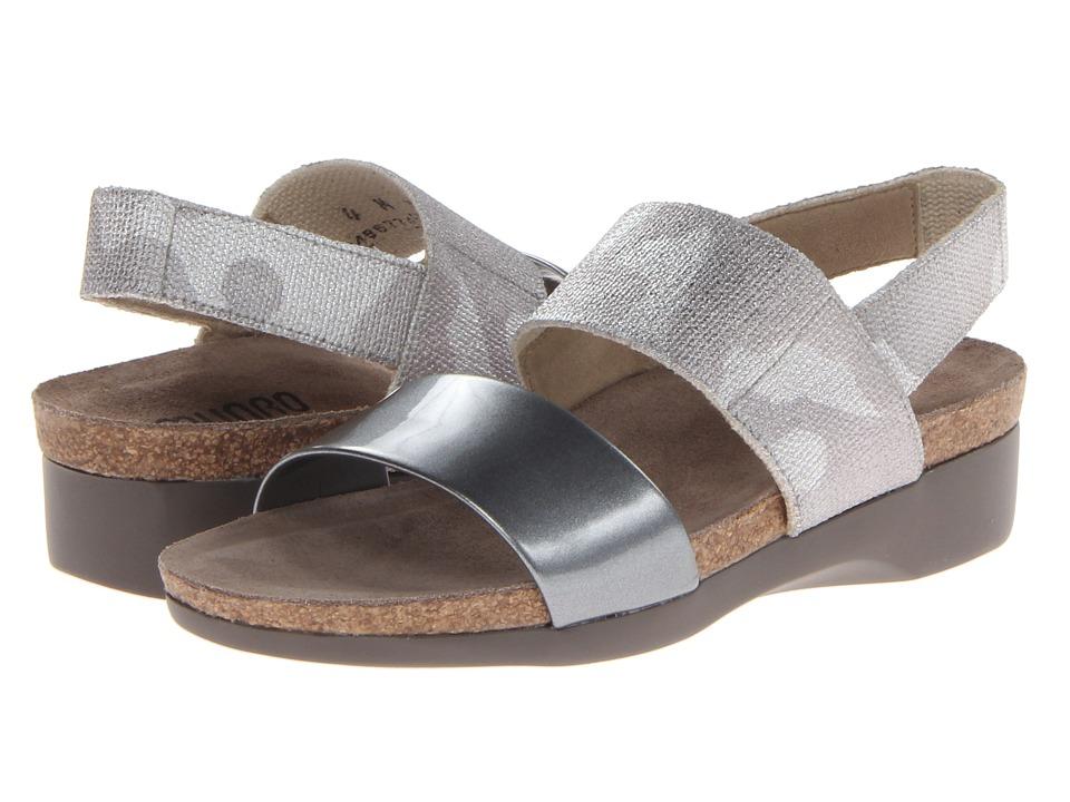 Munro American - Pisces (Silver Camo/Liquid Metal Patent) Women's Sandals