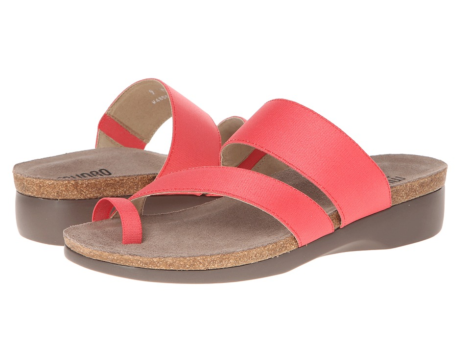 Munro - Aries (Coral Fabric) Women's Sandals