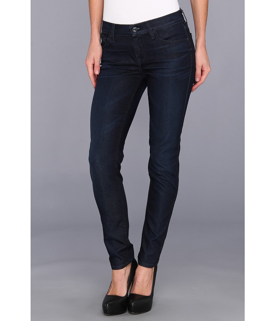 7 For All Mankind - The Slim Cigarette in Night Sheen (Night Sheen) Women's Jeans