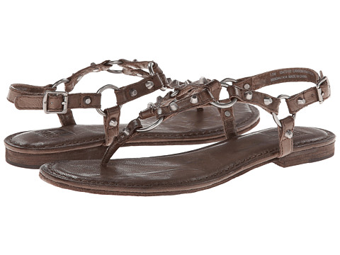 Frye - Carson Ring Thong (Taupe Antique Soft Vintage) Women