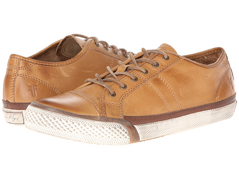 Frye - Greene Low Lace (Camel Soft Vintage Leather) Women
