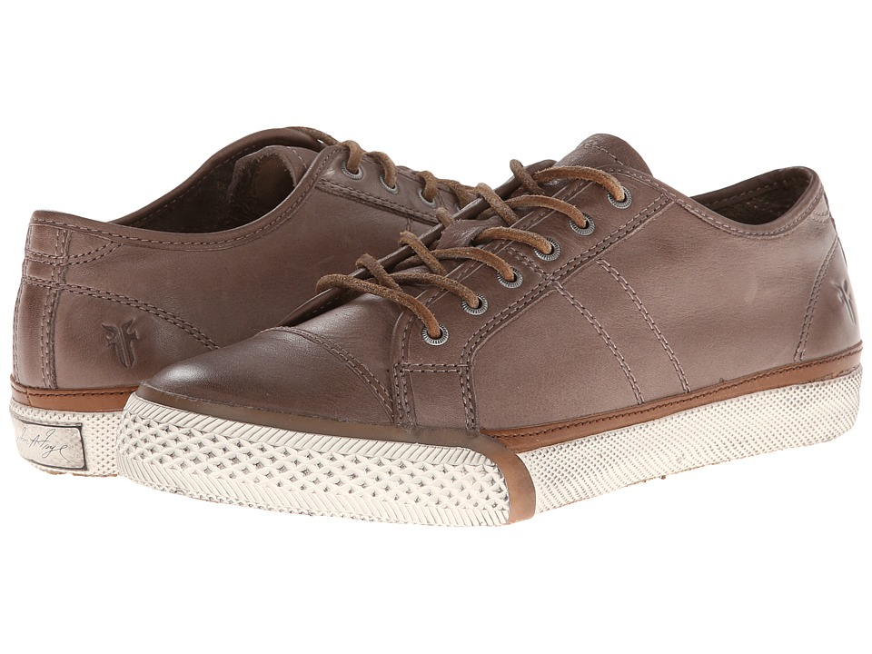 Frye - Greene Low Lace (Grey Soft Vintage Leather) Women