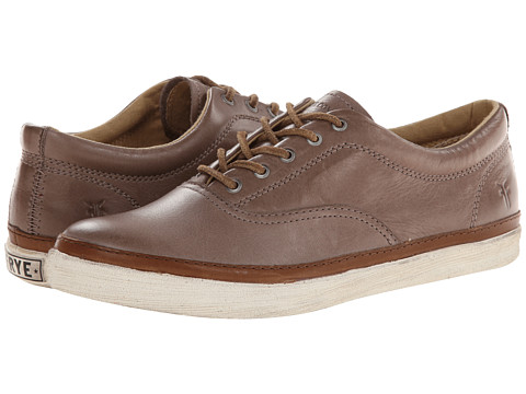Frye - Greene Deck (Grey Soft Vintage Leather) Women