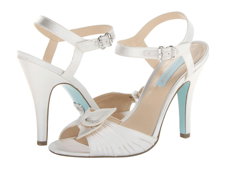 Blue by Betsey Johnson - Party (Ivory Satin) High Heels