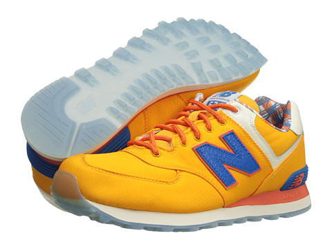New Balance Classics - ML574-Island Pack (Yellow1) Men's Classic Shoes