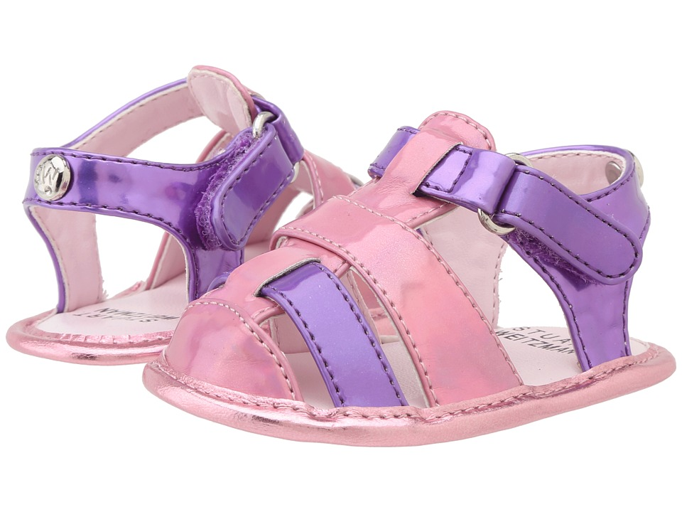 Stuart Weitzman Kids - Baby Kemp Ari (Infant/Toddler) (Pink/Purple) Girl's Shoes