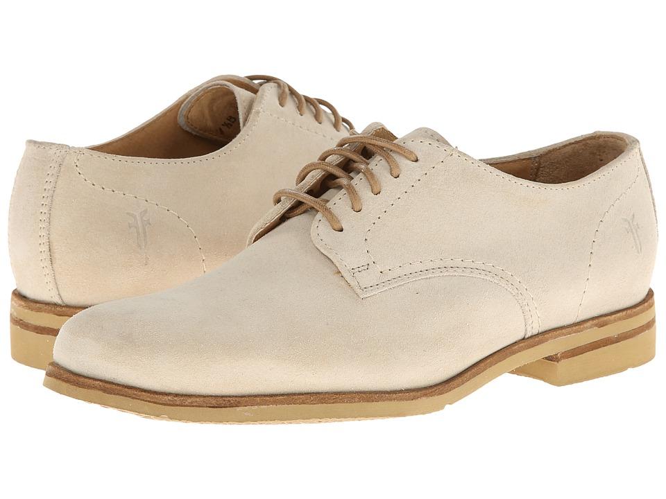 Frye - Jill Oxford (Cement Suede) Women's Shoes