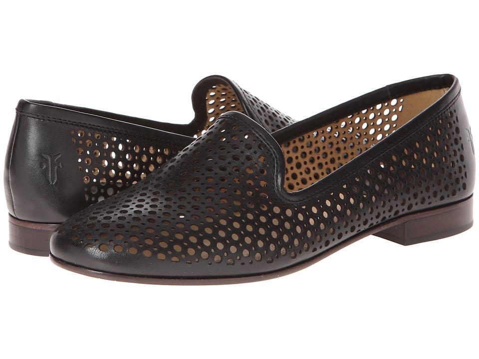 Frye - Jillian Perf Slipper (Black Smooth Full Grain) Women's Slip on Shoes