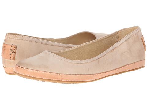 Frye - Tegan Ballet (Stone Buffed Nubuck) Women's Shoes