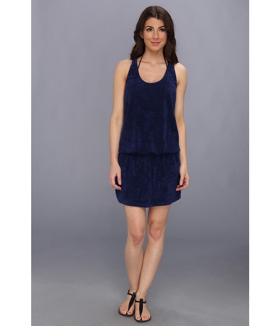 Splendid - Signature Terry Dress Cover-Up (Navy) Women