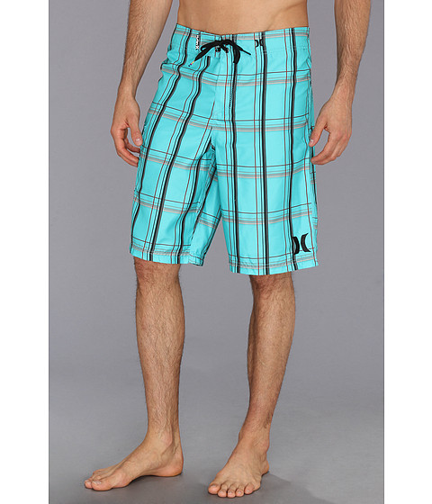 Hurley - Puerto Rico Boardshort (Bright Aqua) Men's Swimwear