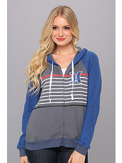 SALE! $34.99 - Save $25 on Hurley Fallbrook Fleece (Heather Varsity Blue) Apparel - 41.19% OFF $59.50